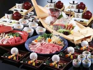 草津温泉 ホテル櫻井:■大皿会席※イメージ