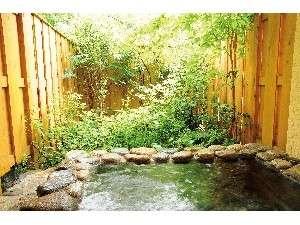 プチホテル アニスガーデン:四季折々楽しめる露天風呂