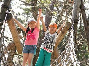 大山ロイヤルホテル:森の国フィールドアスレチック!大自然の中で体を動かそう!(お車で約10分)
