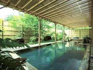 大山ロイヤルホテル:露天風呂「大山温泉」イメージ
