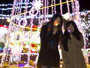 大山ロイヤルホテル:とっとり花回廊☆冬のフラワーイルミネーション☆11月23日より☆女性グループも◎
