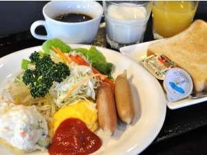 アイランドホテル:朝食無料サービス♪