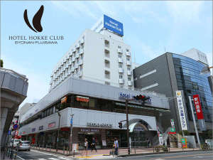 ホテル外観☆ホテルまでは藤沢駅から徒歩約5~6分。繁華街の中に位置しており何かと便利です!