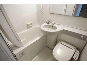 【ユニットバス】お風呂・シャワー・トイレが兼用となっております