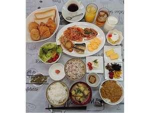 【朝食】バラエティに富んだ和洋食ビュッフェ