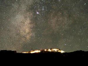 高原ふれあいの家 天狗荘:360度満点の星空は感動的☆+゜