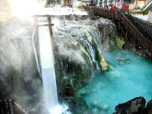 草津温泉ホテルリゾート:湯滝