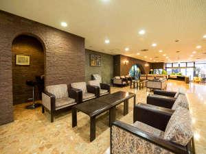 ホテルサンルート一関:1階ロビー/ラウンジです。