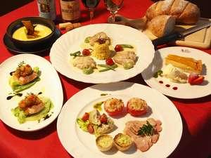 ガストホフ メラージ:ディナーはまごころこめた料理をおもてなしの気持ちで・・・・