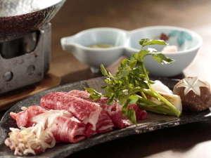 金盛館せゝらぎ (せせらぎ):『ご夕食一例』~肉料理~