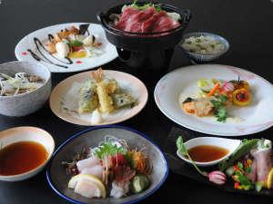 新冠温泉 レ・コードの湯 ホテルヒルズ:■10月から美食プランの夕食