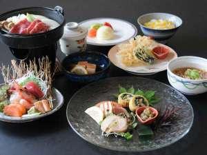 新冠温泉 レ・コードの湯 ホテルヒルズ:美食プラン一例(10月~12月)