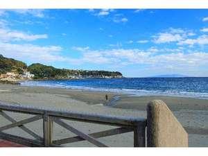 伊豆今井浜温泉旅館 心のどか:今井浜の海岸