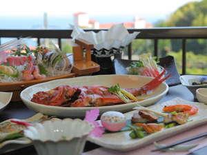 伊豆今井浜温泉旅館 心のどか:口コミでも好評価のお料理です♪