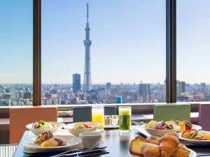 浅草ビューホテル:26F「スカイグリルブッフェ 武藏」朝食イメージ