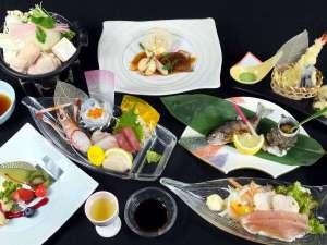 わたらせ温泉 ホテルやまゆり:料理長厳選料理イメージ(季節によりお料理内容は変わります。)