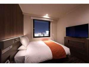 ホテルJALシティ仙台:セミダブル(夜景)高層階にて景色が楽しめます
