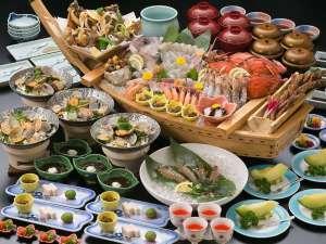 鹿久居荘 日生店:豊漁盛(自慢料理)