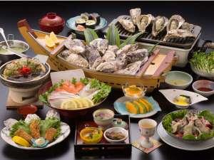 料理旅館 鹿久居荘(かくいそう) 日生店:H28年カキ三昧
