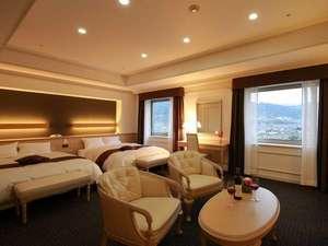 ホテル春日居:≪エグゼクティブツイン51平米≫2016年3月リニューアルOPEN★ソファセットなども完備の快適空間