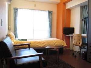 プチベネフィットホテル広島:女性専用のレディースルーム。ゆっくりとお過し頂けるように専用フロアーとなっております。
