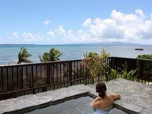 石垣島ビーチホテルサンシャイン:露天風呂でのんびり癒される・・・