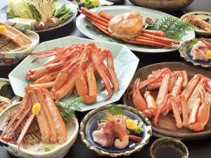 旅館 古城:本来はボイルで食べるのが一般的ですが、鮮度のいい紅ガニを使用しているので様々な料理に!