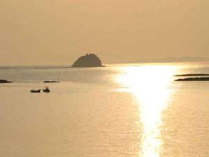 藍風亭:海に沈む夕日は絶景です!