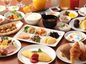 新大阪江坂東急REIホテル:和洋バイキングの美味しい朝食(朝6:30~10:00)