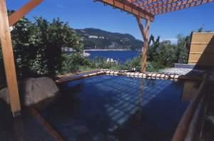 伊東園ホテル稲取:稲取の海を望む「潮彩の湯」露天風呂