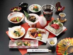 西浦グランドホテル 吉慶:【三河三大味覚饗宴】  活あわび・三河牛・アカザエビ