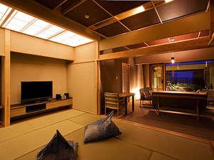 """ホテルニューアワジ:ヴィラ楽園""""星の庭""""タイプF・客室一例"""