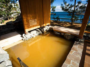 ホテルニューアワジ:【くにうみの湯】 洲本温泉の中でも2つの源泉を愉しめるのはホテルニューアワジグループだけ。