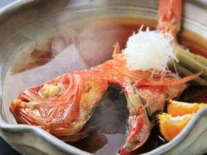 秀花園 湯の花膳:【下田産】元祖・金目鯛の熱海煮