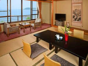 旅館 やまと:オーシャンビューの客室