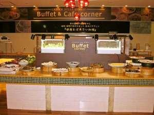 ホテルクラウンヒルズ姫路(旧フローラルイン姫路/BBHグループ): 1Fレストラン会場 和洋食バイキングスタイルでご準備いたしております。
