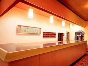 二見温泉蘇民の湯 ホテル清海:モダンなフロント