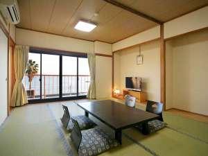 小豆島 シーサイドホテル 松風:オーシャンビュー和室12畳(バストイレ付き)
