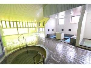 うたしないチロルの湯:大浴場 天然温泉