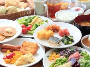 リッチモンドホテル東京武蔵野:種類が豊富で嬉しいバイキング♪
