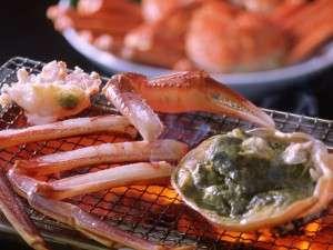 湯喜望 白扇:香ばしいかおりがたまらない、焼き蟹
