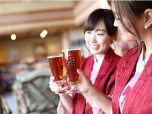 Gビールで乾杯