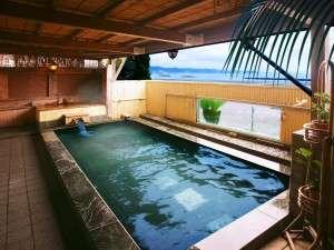 鴨川ユニバ-スホテル:潮騒露天風呂