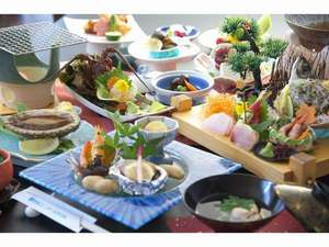 鴨川ユニバ-スホテル:味覚プラン一例