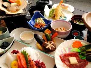 大雪山白金観光ホテル:地元食材をふんだんに使用した和食膳