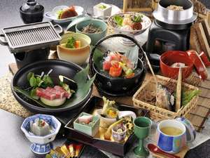 奥飛騨温泉 穂高荘 山のホテル:和食イメージ写真