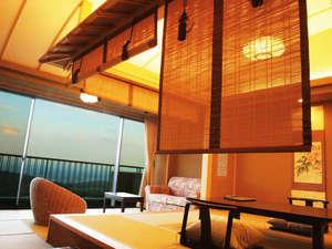 岳温泉 ながめの館 光雲閣:5階最上階コンフォートフロア・和風モダンルーム一例・#529号室
