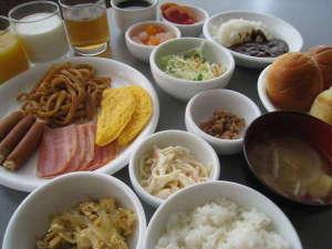 ホテル・アルファ-ワン能登和倉:ご朝食バイキング(盛り付けイメージ)