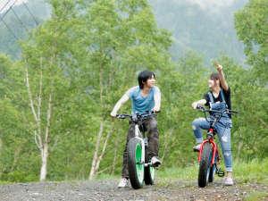 万座ホテル聚楽(じゅらく):ファットバイク無料貸出やってます!※先着順・予約不可