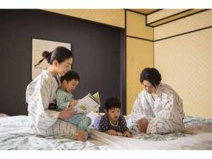 ルークプラザホテル:やっぱり和室は落ち着きます。家族一緒がいいね。